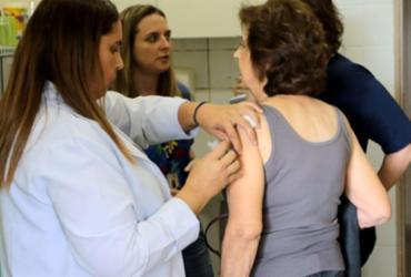 Vacinação contra gripe tem mais de 90% do público-alvo imunizado |