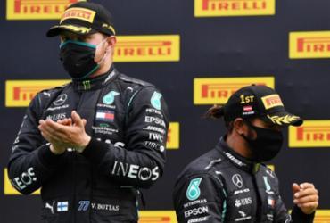 Hamilton vence GP da Estíria e mira em recorde de Schumacher | Joe Klamar | AFP | POOL