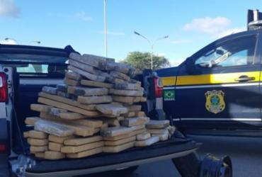 Homem é preso com mais de 100kg de maconha em carro na BR-116