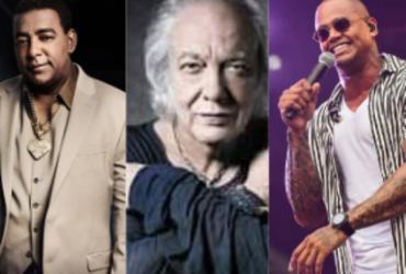 Raça Negra, Erasmo Carlos e Léo Santana: confira as lives da semana | Divulgação