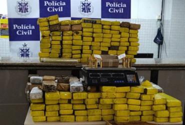 Quase 200 kg de maconha são apreendidos em Itapuã |