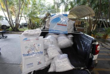 Quantitativo de 1 milhão de máscaras é entregue a 190 municípios baianos