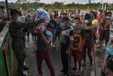 Ministério Público investiga missão militar contra COVID-19 em terras indígenas | Nelson Almeida | AFP