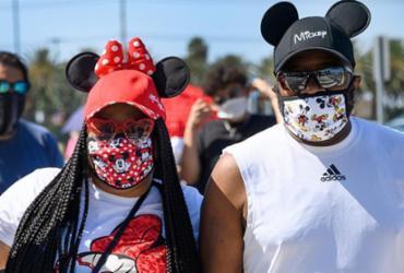 Disney World reabre as portas em plena expansão da Covid-19 na Flórida | Robyn Beck | AFP