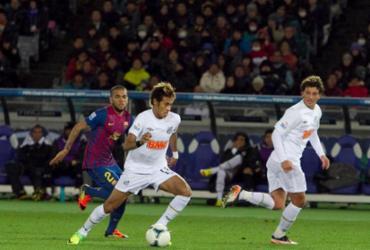 Barcelona anuncia vitória sobre Santos em disputa jurídica por Neymar | Leandro Amaral | Divulgação Santos FC