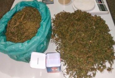 Suspeito é preso com drogas em Quijingue