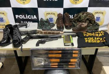 Suspeito de assalto, falso delegado é preso no interior da Bahia