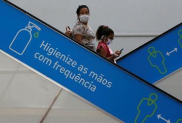 Com avisos por toda parte, shoppings reabriram nesta sexta | Foto: Rafael Martins | Ag. A TARDE - Rafael Martins | Ag. A TARDE