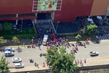 Entregadores de Apps protestam em Salvador por melhorias nas condições de trabalho | Anota Bahia