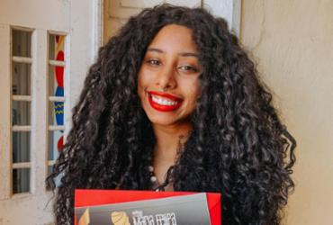 Repórter do Portal A Tarde recebe Prêmio Maria Felipa | Reprodução | Arquivo Pessoal