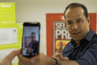 Fundador da Ricardo Eletro presta depoimento ao Ministério Público | Reprodução