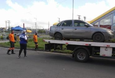 Feira clandestina de carros é desfeita pela força-tarefa da Sedur | Divulgação | Ascom Sedur