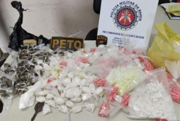 Mulher é presa com R$ 40 mil em cocaína em Simões Filho | Divulgação | SSP-BA