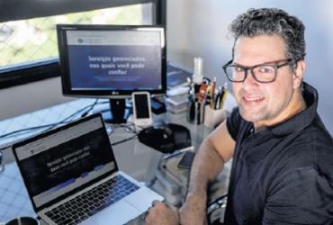 Pandemia acelera a busca por profissionais da área de tecnologia | Uendel Galter | Ag. A TARDE