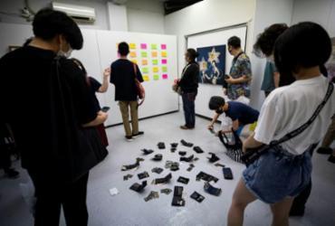 Exposição em Tóquio que permitia roubo de obras dura dez minutos | AFP