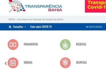 Transparência Internacional aprova portais do governo e prefeitura na pandemia   Reprodução