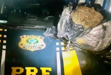 Com carro alugado, empresário sem CNH é preso com maconha na BR-116