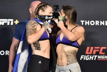 Em pesagem caótica, quatro atletas são retirados do UFC deste sábado   Divulgação