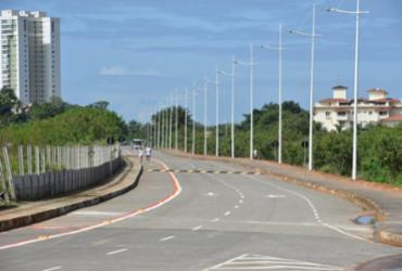 Via de ligação amplia mobilidade entre Paralela e Orla | Valter Pontes | Secom