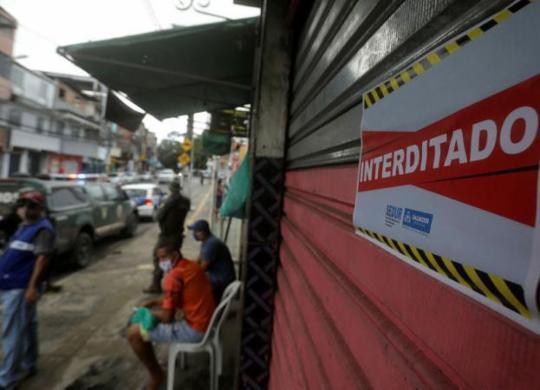 Pandemia foi responsável por 4 a cada 10 fechamentos de empresas em junho, diz IBGE   Reprodução