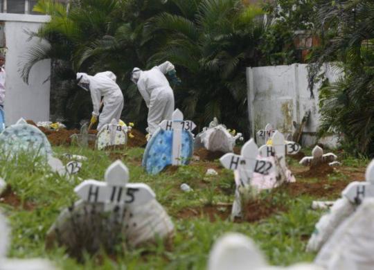 Bahia registra 57 mortes por Covid-19 nas últimas 24 horas | Rafael Martins | Ag. A TARDE
