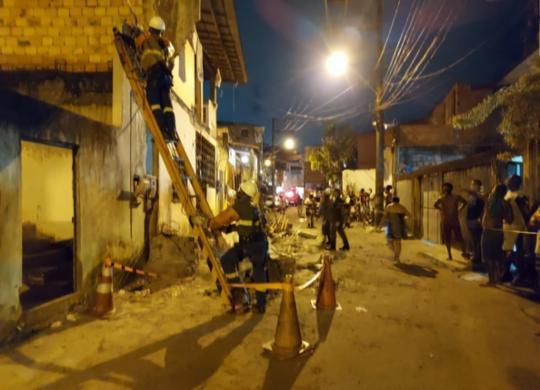 Pedreiro morre após marquise de imóvel desabar no bairro de Periperi   Divulgação   Sempre