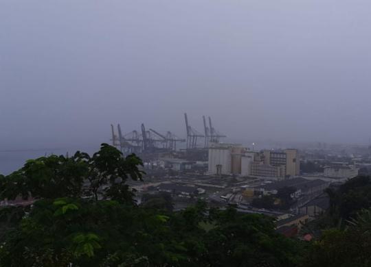 Salvador amanhece com chuva nesta quinta; tempo fechado deve permanecer   Paulo Passos   Cidadão Repórter   Via Whatsapp