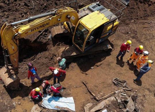 Sancionada lei que proíbe barragens como Mariana e Brumadinho | Divulgação | Corpo de Bombeiros de Minas Gerais