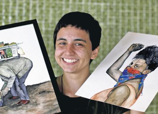 Talentos da nova geração de ilustradores e desenhistas baianos ampliam campos de ação   Adilton Venegeroles   Ag. A TARDE