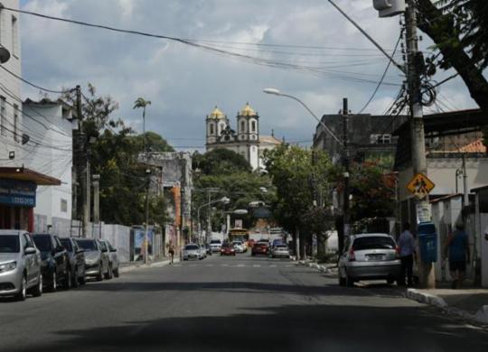 Trânsito na Cidade Baixa sofre mudanças a partir desta sexta | Gilberto Junior | Ag. A TARDE