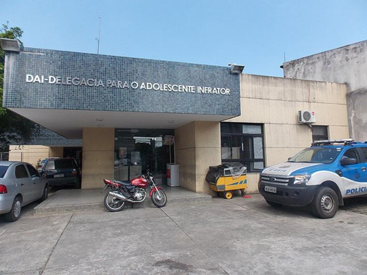 O adolescente está à disposição da Promotoria da infância e da juventude do Ministério Público da Bahia | Foto: Reprodução - Foto: Reprodução