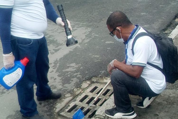 Cerca de 2 mil agentes de combate às endemias estão envolvidos nas ações que acontecem durante os sete dias da semana em toda a cidade   Foto: Divulgação - Foto: Divulgação
