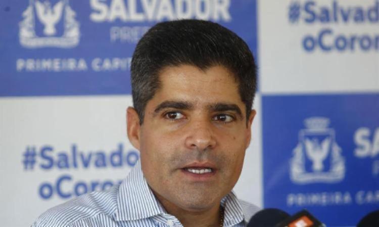 Prefeito participou de reunião com o ministro da Economia - Foto: Laryssa Machado   Ag. A TARDE