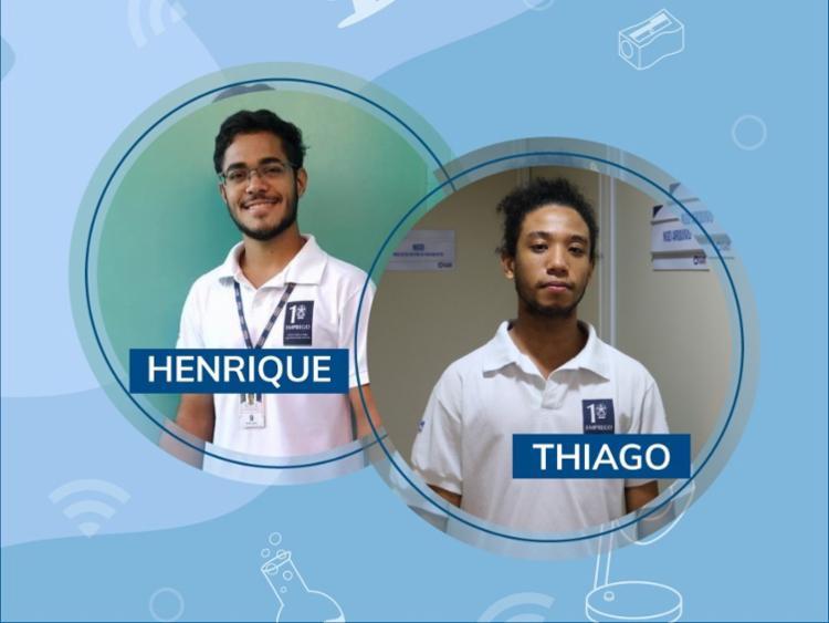 Thiago Alves e Luiz Henrique Souza integram o Primeiro Emprego | Foto: Divulgação - Foto: Divulgação
