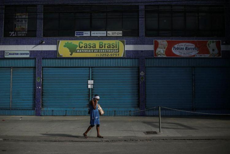 Bahia proibiu o funcionamento do comércio não essencial a partir desta sexta-feira | Foto: Raphael Müller | Ag. A TARDE - Foto: Raphael Müller | Ag. A TARDE