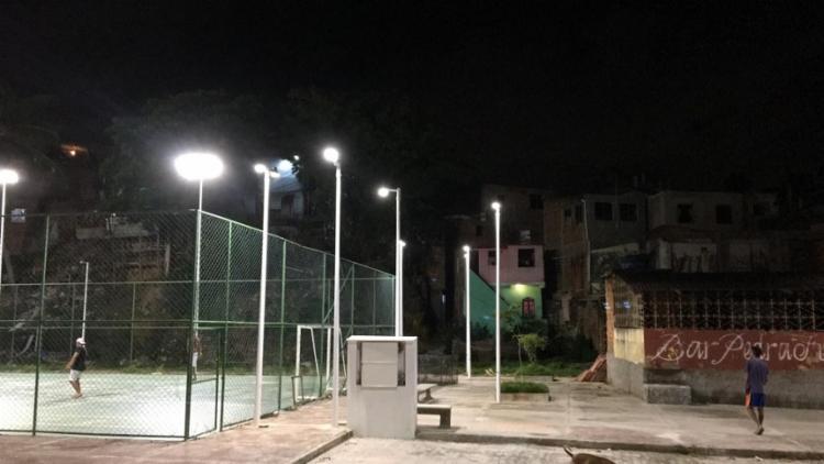 Bairro recebeu iluminação mais moderna | Foto: ASCOM | Conder - Foto: ASCOM | Conder