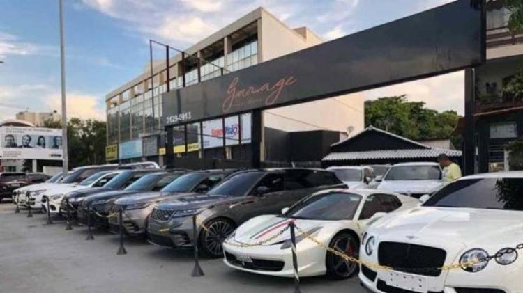 Capitão Adriano usava uma concessionária de luxo na Barra da Tijuca, zona oeste do Rio, para vender e comprar carros | Foto: Reprodução - Foto: Reprodução