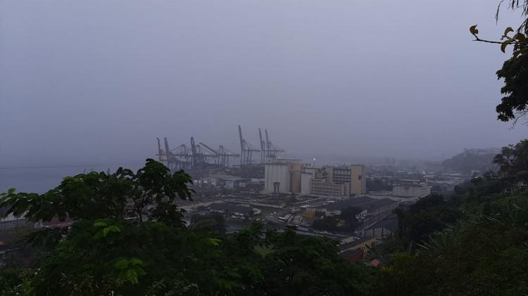 Segundo o Inmet, a previsão para esta quinta-feira é de chuva durante todo o dia | Foto: Paulo Passos | Cidadão Repórter - Foto: Paulo Passos | Cidadão Repórter