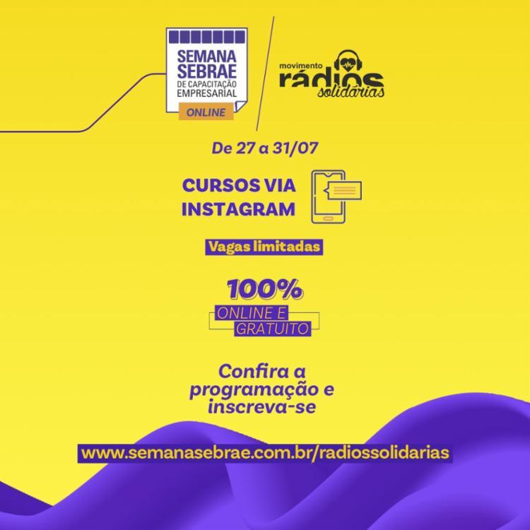 Inscrições gratuitas devem ser feitas pelo site | Foto: Divulgação - Foto: Divulgação