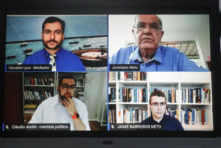 Live ocorreu nesta quarta no canal do Grupo A TARDE no Youtube | Foto: Felipe Iruatã | Ag. A TARDE - Foto: Felipe Iruatã | Ag. A TARDE