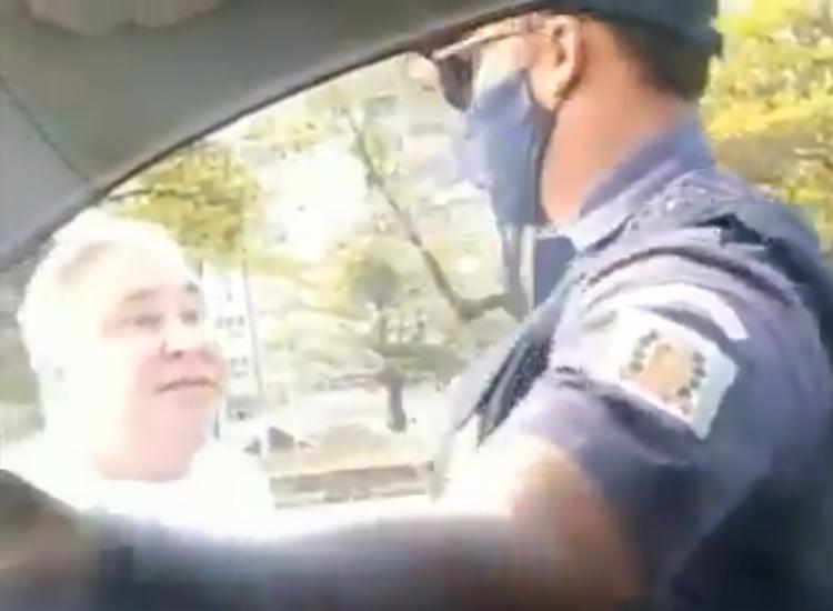 Desembargador aparece em vídeo humilhando guarda civil   Foto: Reprodução   Twitter - Foto: Reprodução   Twitter
