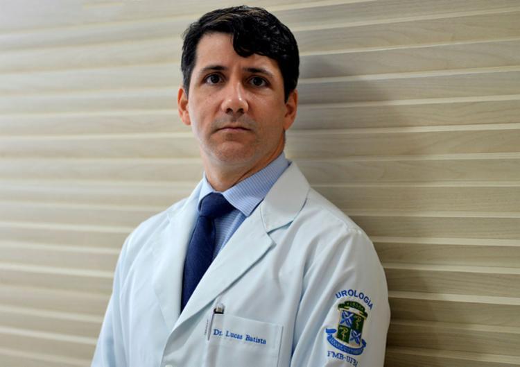 Lucas Batista é presidente da Sociedade Brasileira de Urologia (Seção Bahia)   Foto: Shirley Stolze   Ag. A TARDE - Foto: Shirley Stolze   Ag. A TARDE