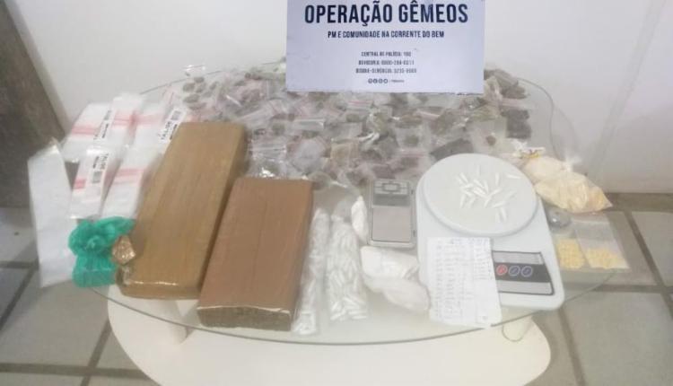Material foi apresentado na central de flagrantes | Foto: Divulgação | SSP - Foto: Divulgação | SSP