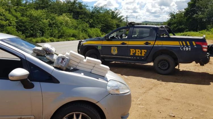 Volume apreendido nas ações renderia cerca de R$ 1 milhão ao tráfico | Foto: Divulgação | PRF-BA - Foto: Divulgação | PRF-BA