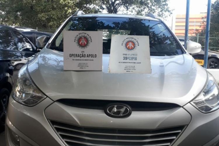 Carros apreendidos foram encaminhados ao DRFRV | Foto: Divulgação | SSP - Foto: Divulgação | SSP