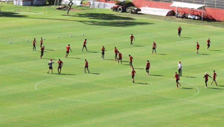 O Leão se prepara para seu primeiro jogo desde as suspensões de campeonatos   Foto: Ascom   ECV - Foto: Ascom   ECV