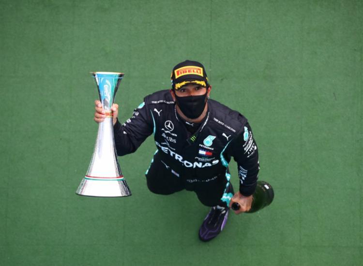 Com oito vitórias na Hungria, inglês iguala feito de alemão na França   Foto: Mark Thompson   POOL   AFP - Foto: Mark Thompson   POOL   AFP