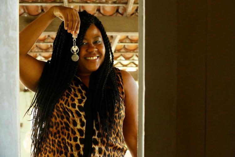 Rosângela adiquiriu seu apartamento no feirão da Ademi   Foto: Rafael Martins   Ag. A TARDE - Foto: Rafael Martins   Ag. A TARDE