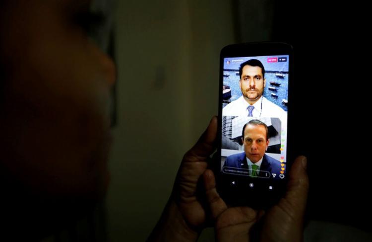 Governador de São Paulo participou do A TARDE Conecta | Foto: Adilton Venegeroles | Ag. A Tarde - Foto: Adilton Venegeroles | Ag. A Tarde
