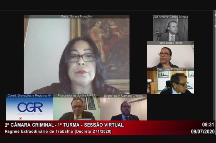 As sessões virtuais foram instituídas como alternativa em meio à pandemia | Foto: Divulgação - Foto: Divulgação